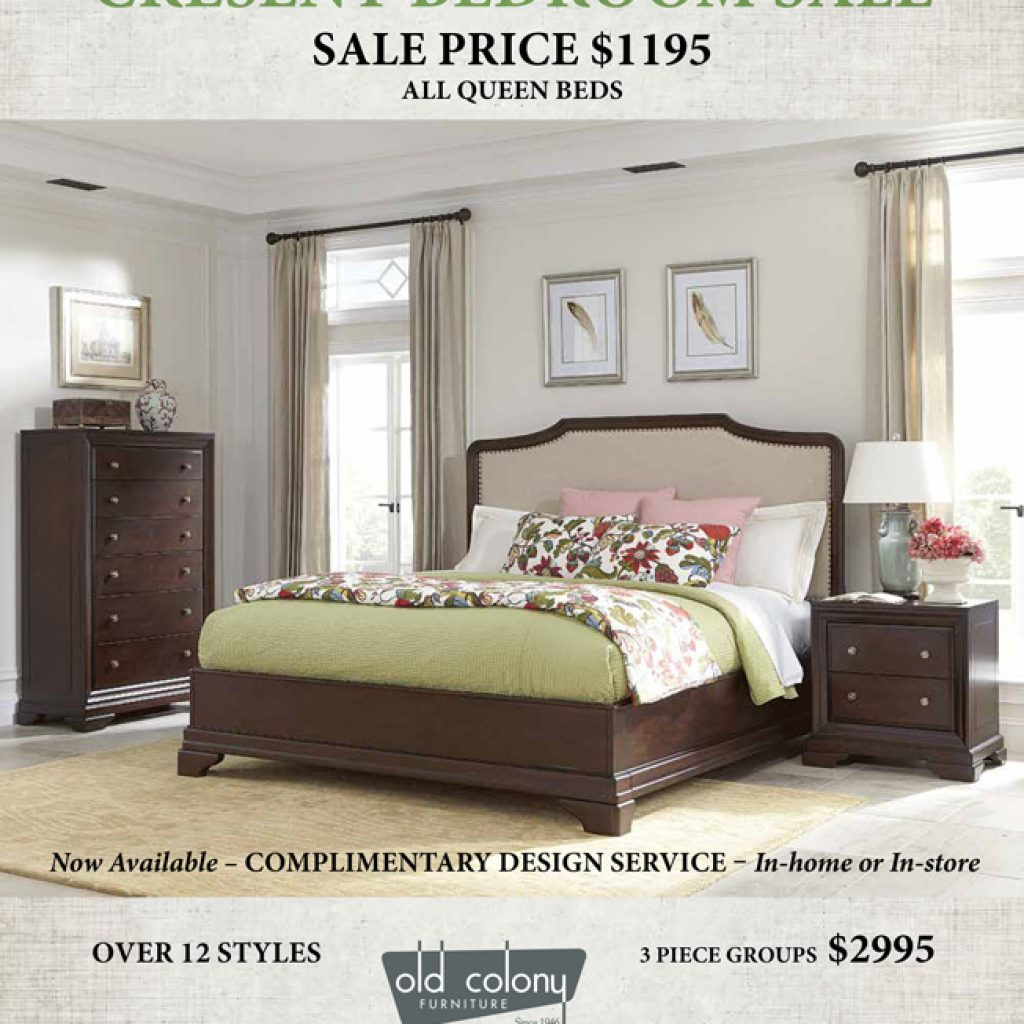 Specials old colony furniture for Bedroom furniture packages sale
