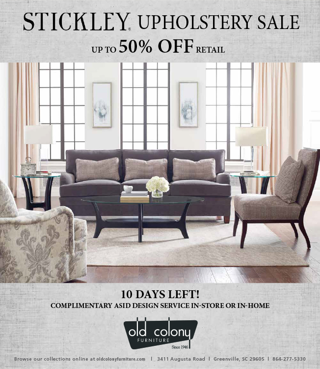Stickley Upholstery Sale